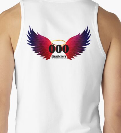 000 Dispatchers Lifesavers - Red Blue Wings Tank Top