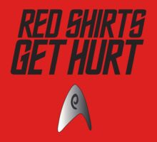 Red Shirts Get Hurt by Elizabeth Aubuchon