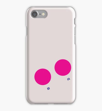 Game Boy Buttons iPhone Case/Skin