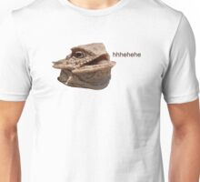 Laughing Iguana HeHe Lizard Unisex T-Shirt