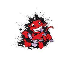 cute little baby devil Photographic Print