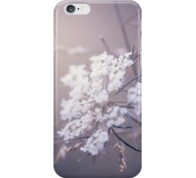 White Wildflowers iPhone Case/Skin