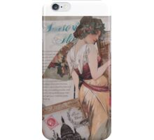 Advert iPhone Case/Skin