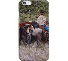 Living The Dream, Moving The Herd iPhone Case/Skin