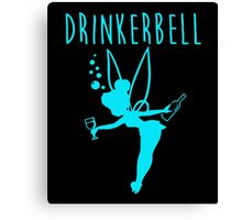 Drinkerbell blue color Canvas Print