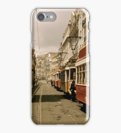 Downtown Lisbon iPhone Case/Skin