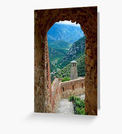 A view to the Pyrenees Greeting Card