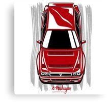 Lancia Delta vertical Canvas Print