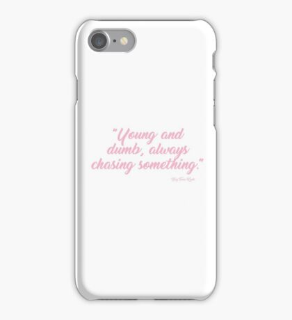 FUCK ME UP ITS PINK iPhone Case/Skin