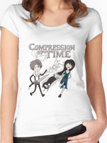 Compression of Time Women's Fitted Scoop T-Shirt