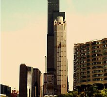 Willis Tower by ghosthousedsign
