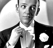 Fred Astaire Publicity Portrait by JoAnnFineArt
