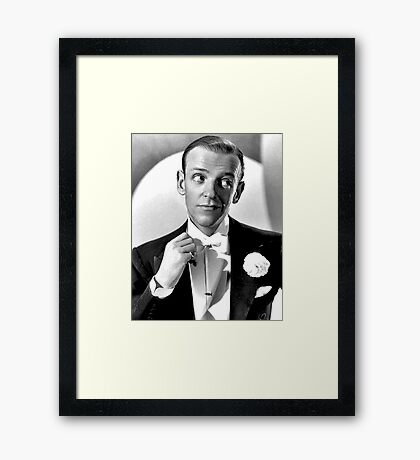 Fred Astaire Publicity Portrait Framed Print