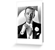 Fred Astaire Publicity Portrait Greeting Card