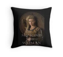 My kind of woman Throw Pillow