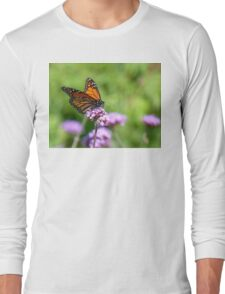 Autumn Beauty! - Monarch Butterfly - Otago - NZ Long Sleeve T-Shirt