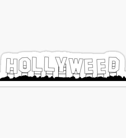 Hollyweed Sticker
