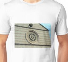 Rosette from church in Assisi, Italy Unisex T-Shirt