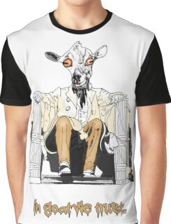 IN GOAT WE TRUST Graphic T-Shirt