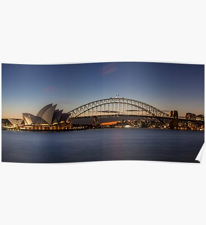 Sydney Sunset Poster