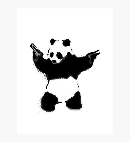 PandaGunLogo Photographic Print