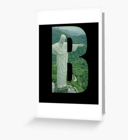 Brazil (Brazilian Jiu Jitsu) Greeting Card