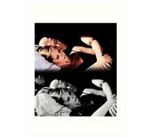 Buffy and Spike - Buffy the Vampire Slayer Art Print