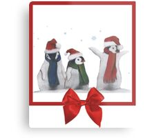 Penguins Metal Print