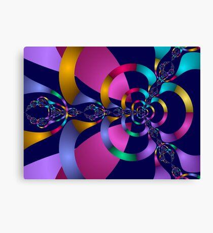 Rainbow Magic Abstract Fractal Canvas Print