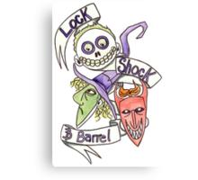 Lock, Shock & Barrel  Canvas Print
