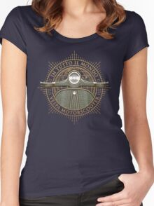 Vespa - In Tutto Il Mondo (gold) Women's Fitted Scoop T-Shirt
