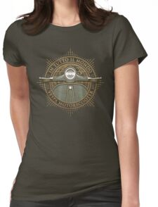 Vespa - In Tutto Il Mondo (gold) Womens Fitted T-Shirt