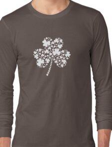 St Patrick's Day Irish Shamrock Clover Long Sleeve T-Shirt