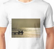 Sitting in the dock of a bay Unisex T-Shirt