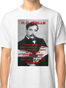 And I Beheld - HG Wells Classic T-Shirt