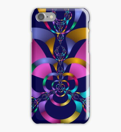 Rainbow Magic Abstract Fractal iPhone Case/Skin