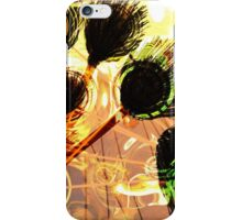 Peacock Abstract art iPhone Case/Skin
