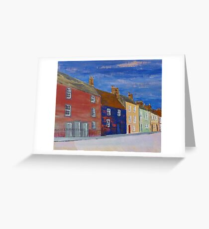 Pittenweem Road, Anstruther Greeting Card