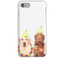 Party pups iPhone Case/Skin
