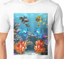 Aquarium Sealife Fish Unisex T-Shirt