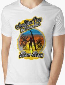Another Day In Paradise Bora Bora  Mens V-Neck T-Shirt