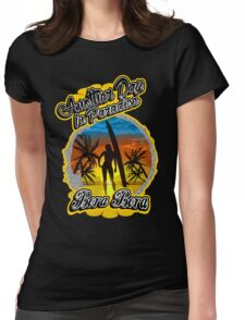 Another Day In Paradise Bora Bora  Womens Fitted T-Shirt