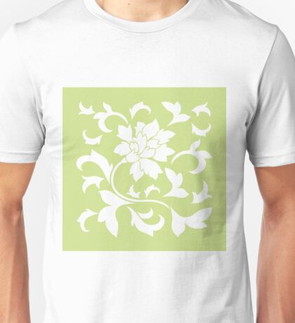 Oriental Flower - Daiquiri Green Unisex T-Shirt
