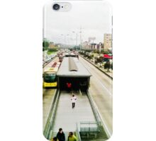 The mobility of the city. iPhone Case/Skin