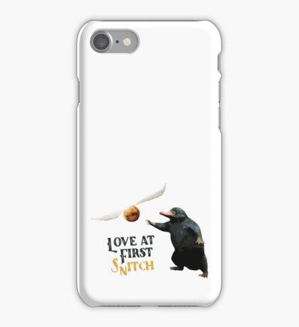 Love at first Snitch iPhone Case/Skin