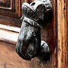 Door knocker Calella 2005 by patjila