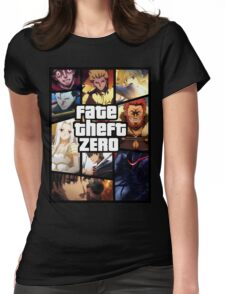 Fate Theft Zero Womens Fitted T-Shirt