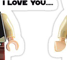 I love you - I know Sticker