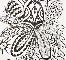 Zentangle 6 by bevieann