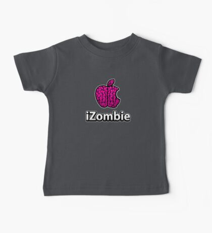 Apple iZombie -pink- Baby Tee